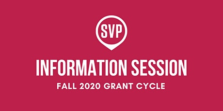 SVP Boston Fall 2020 Information Session #2 tickets
