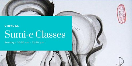 Virtual Sumi-e Classes October tickets