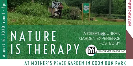 Nature Is Therapy tickets