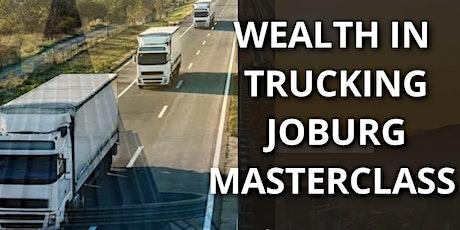 Wealth in Trucking masterclass tickets