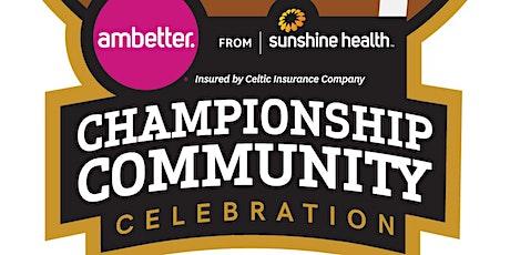 Championship Community Celebration Back to School Drive-Thru Event – Aug.15 tickets