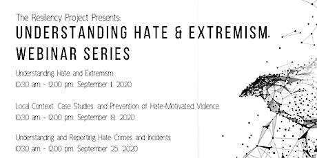Understanding Hate & Extremism Series tickets