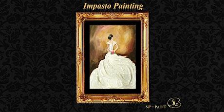 Impasto Painting Workshop :  Shining White Dress (Sunday) tickets