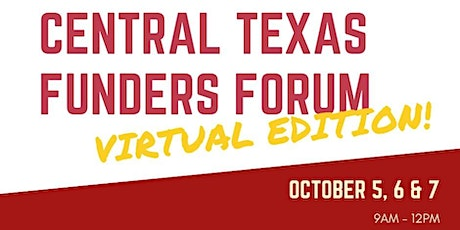 15th Annual Central Texas Funders Forum - Virtual Edition! tickets