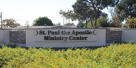St. Paul Ministry Center OUTDOOR MASS Saturday, August 15, 2020 at 6:00pm tickets