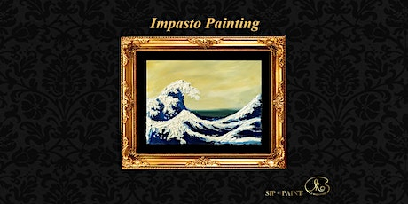 Palette Knife Painting Workshop : The Wave (Sunday) tickets