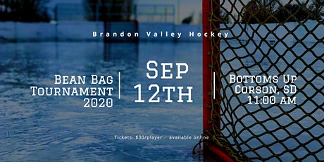 """Brandon Valley Ice Cat's annual """"IN THE BAG"""" tournament tickets"""