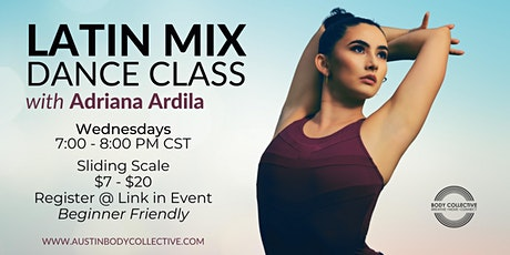 Latin Mix Dance Class with Adriana Ardila tickets