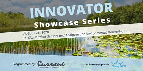 Innovator Showcase Series - In-Situ Nutrient Sensors and Analyzers tickets