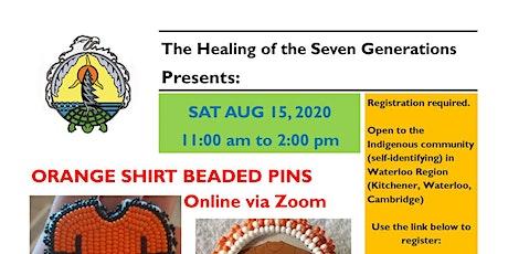 Orange Shirt Beaded Pin - Aug 15 biglietti