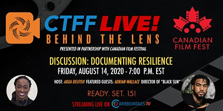 CTFF LIVE! Behind the Lens: Documenting Resilience tickets