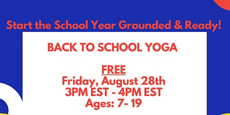 Back to School Yoga tickets
