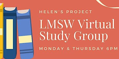 LMSW Virtual Study Group billets