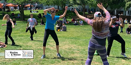 Outdoor Dance Classes with Rhythm & Motion and Yerba Buena Gardens Festival tickets