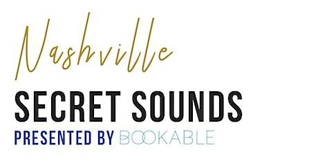 Secret Sounds | Live Music + Wine Tasting tickets