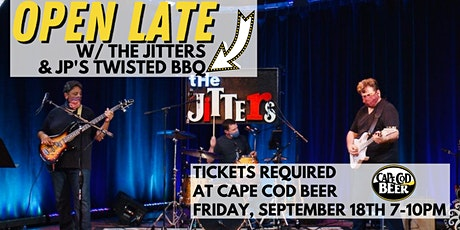 OPEN LATE with Food from JP's Twisted BBQ and Live Music w/ The Jitters tickets