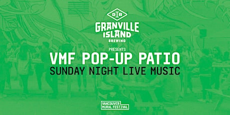 VMF POP-UP PATIO: Sunday Night Live Music + Art tickets