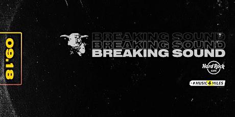 Breaking Sound - Hard Rock Cafe Reykjavik feat. Blankiflur + more TBA tickets