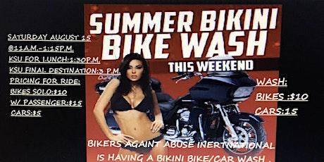 Bikini Bike Wash hosted by Bikers Against Abuse International tickets