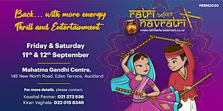 Ratri Before Navratri - Auckland 2020 tickets