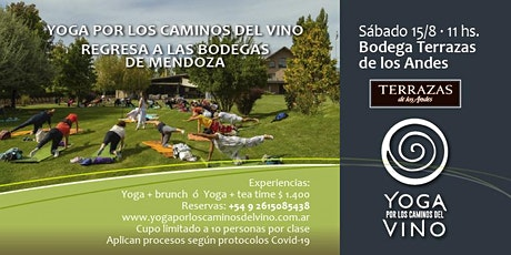 Yoga por los Caminos del Vino + brunch en TERRAZAS DE LOS ANDES entradas