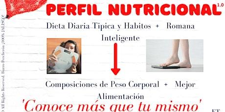 Perfil Nutricional 1.0 tickets