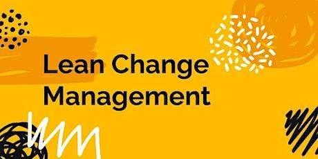 Master Class - Lean Change Management entradas