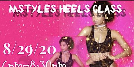 Mstyles Heels Class tickets