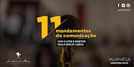 Curso:11 mandamentos da comunicação. ingressos