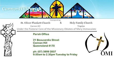 Weekend Mass - Cannon Hill - 9.30am tickets