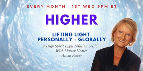 HIGHER - Lifting LIGHT Personally Globally  | Live Online Event tickets