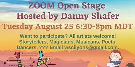 ZOOM Open Stage with Danny Shafer tickets