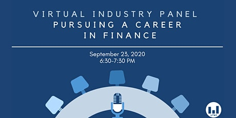 Pursuing a Career in Finance tickets