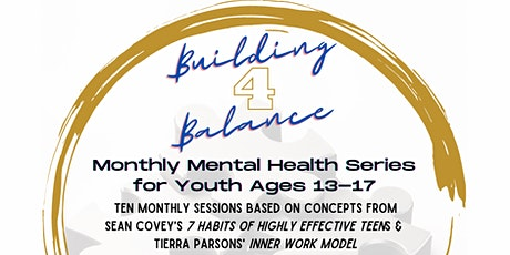 Building for Balance Youth Mental Health Series tickets