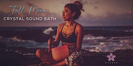 Full Moon Crystal Sound Bath tickets