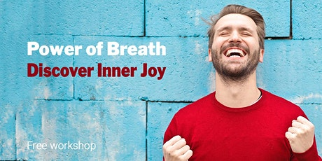 Power of Breath Online - An Intro to the Happiness Program tickets