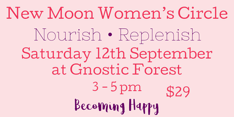 New Moon Women's Circle - September 12th tickets