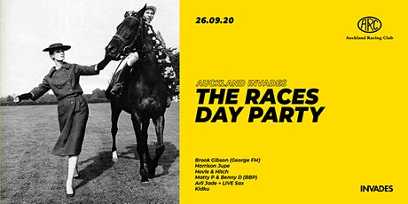 Auckland INVADES // The Races Day Party tickets