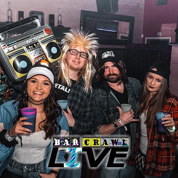 Boozin' Through The 90s Bar Crawl | Detroit, MI - Bar Crawl LIVE! image