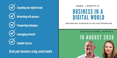 Grow Your Business Using Social Media | Branding, Prospecting & Networking tickets