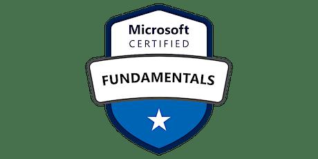 Microsoft Azure Fundamentals tickets