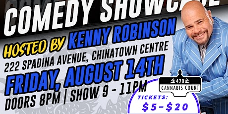 Comedy Showcase at 420 Cannabis Court tickets