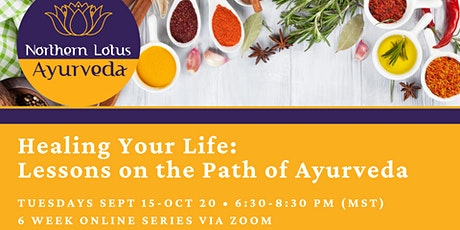 Healing Your Life: Lessons on the Path of Ayurveda (6 Week Series) tickets