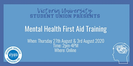 Mental Health First Aid Training Online Training Session tickets