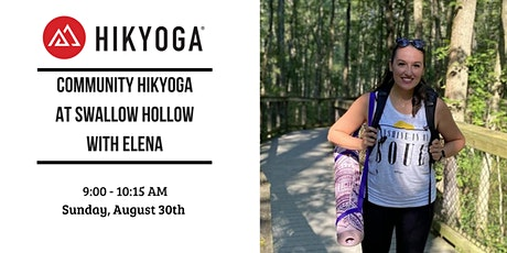 Complimentary Community Hikyoga at Swallow Hollow with Elena tickets