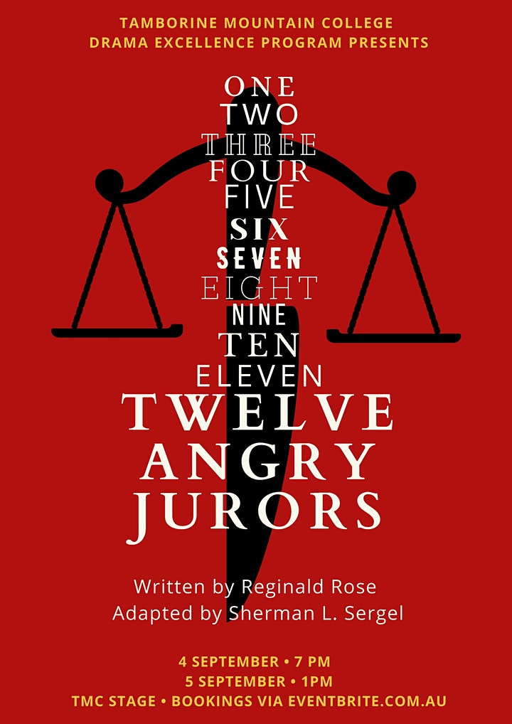 TMC Drama Excellence Performance - 12 Angry Jurors image