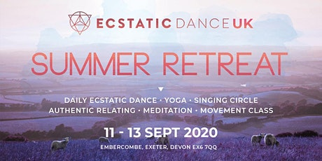 Ecstatic Dance UK • September Retreat tickets