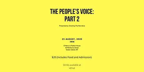 The People's Voice: Part 2 tickets
