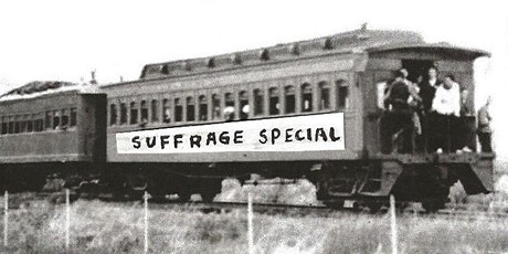 All Aboard the Suffrage Special: Riding the Rails on the V&T tickets