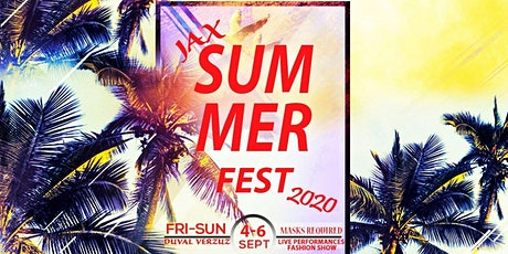 Jax Summer Fest 2020 tickets